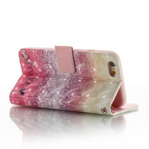 Explosion Section 3D Painted Pu Phone Case for Iphone 6S / 6 -