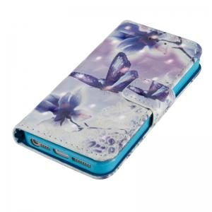 3D Painted Pu Phone Case for Iphone 5 / 5S / Se -