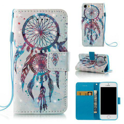 Fashion 3D Painted Pu Phone Case for Iphone 5 / 5S / Se