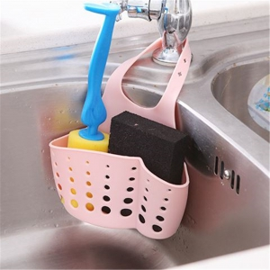 Adjustable Kitchen Sink Storage Bag - MULTI-COLOR