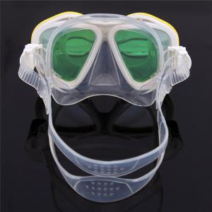 Whale Professional Anti-Fog Color Mirror Silicone Snorkeling Diving Mask Mm-2600 -