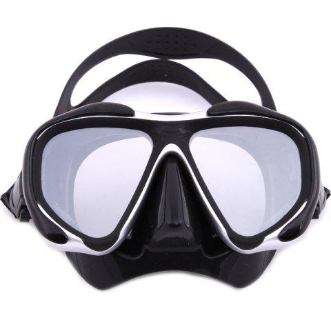 Shops Whale Professional Anti-Fog Color Mirror Silicone Snorkeling Diving Mask Mm-2600 GRAY