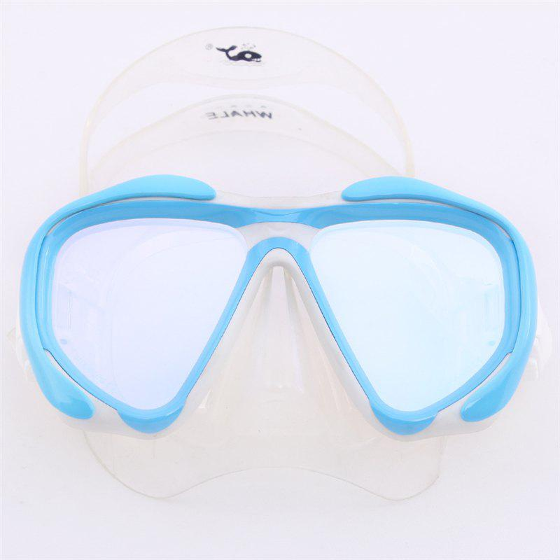 Shop Whale Professional Anti-Fog Color Mirror Silicone Snorkeling Diving Mask Mm-2600