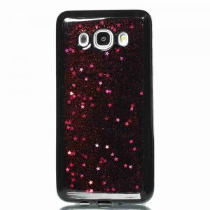 Black Five-Pointed Star Painted Tpu Phone Case for Samsung Galaxy J510 / J5 2016 -