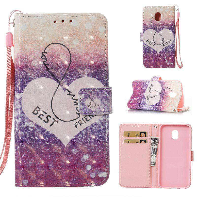 Shop 3D Painted Pu Phone Case for Samsung Galaxy J330