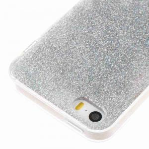 Flash Powder Painted Dijiao Tpu Phone Case pour Iphone 5 / 5S / 5C / 5E -