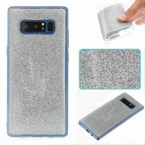 Outfits Flash Powder Painted Tpu Phone Case for Samsung Galaxy Note 8