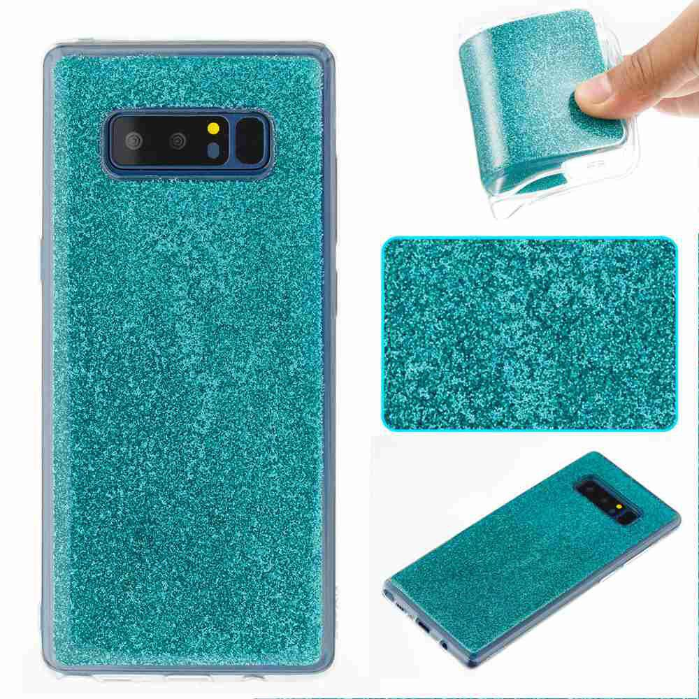 Best Flash Powder Painted Tpu Phone Case for Samsung Galaxy Note 8