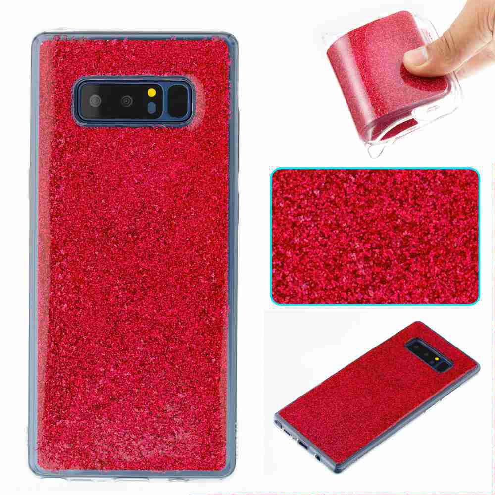 Online Flash Powder Painted Tpu Phone Case for Samsung Galaxy Note 8