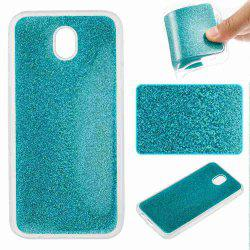 Flash Powder Painted Tpu Phone Case for Samsung Galaxy J730 -