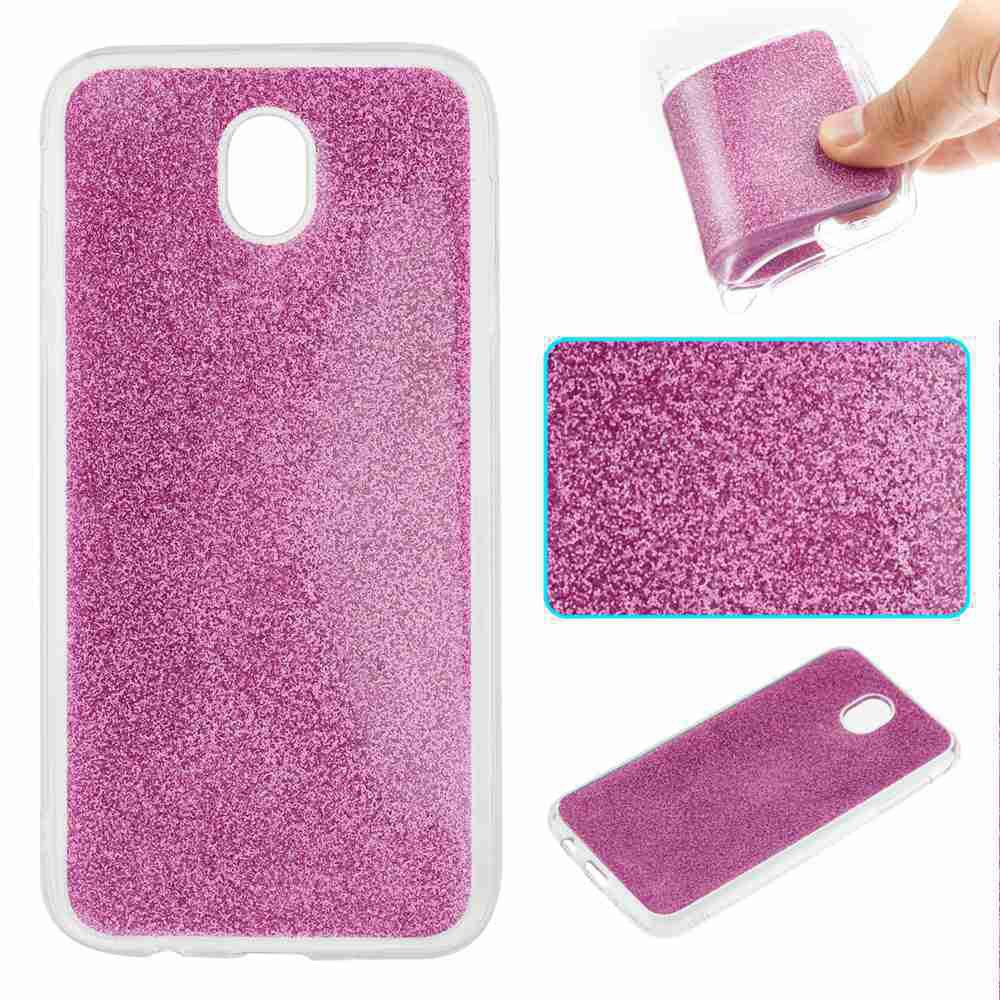 Best Flash Powder Painted Tpu Phone Case for Samsung Galaxy J730