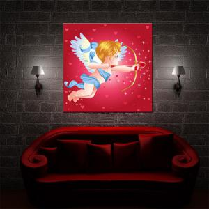 Hua Tuo Cartoon Figure Oil Painting Size 60 x 60CM Ht - 157016 -