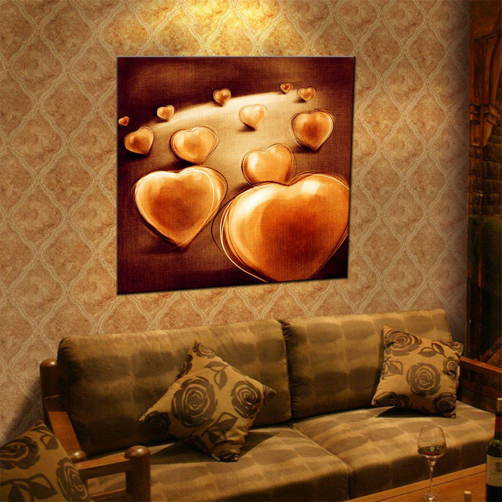 Unique Hua Tuo Love Heart Oil Painting Size 60 x 60CM Ht - 157019