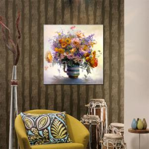 Hua Tuo Flower Oil Painting Size 60 x 60CM Osr - 160389 -