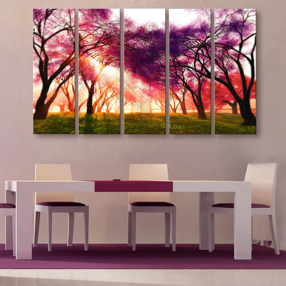 Latest Yc Special Design Frameless Paintings A Ray of Sunshine of 5