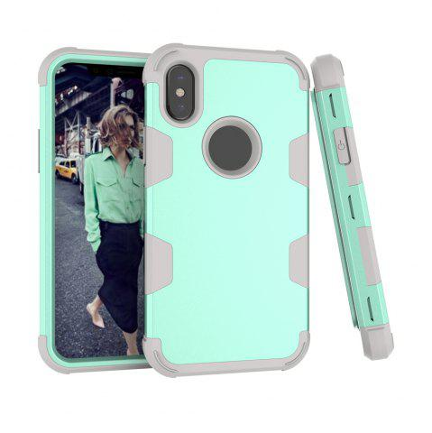 Anti Slip Hybrid Heavy Duty Shockproof Case with Dual Layer  Hard Pc  Soft Silicone  Impact Protection for Iphone x