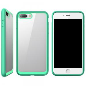 Hybrid Protective Bumper Tpu And Pc Anti-Scratch Clear Back Case for Iphone 7 Plus -