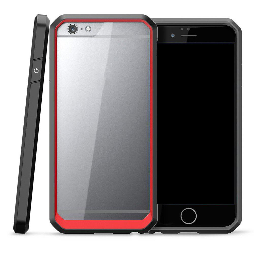 Outfit Style Premium Hybrid Protective Clear Bumper Case Scratch Resistant for iPhone 6 / 6S