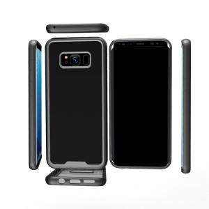 Style Premium Hybrid Protective Clear Bumper Case Scratch Resistant for Samsung Galaxy S8 -