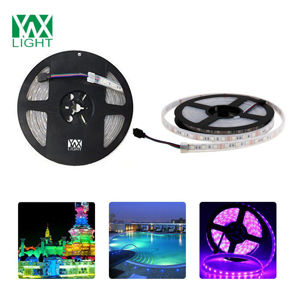 Ywxlight 5M 5050SMD Fully Submersible Led Flexible Strip Light Rgb Color Dc 12VHOME<br><br>Color: RGB;