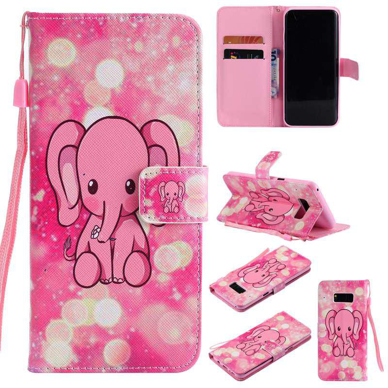 Outfit New Painted Pu Phone Case for Samsung Galaxy S8 Plus