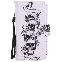 New Painted Pu Phone Case for Samsung Galaxy Core Prime G360 -