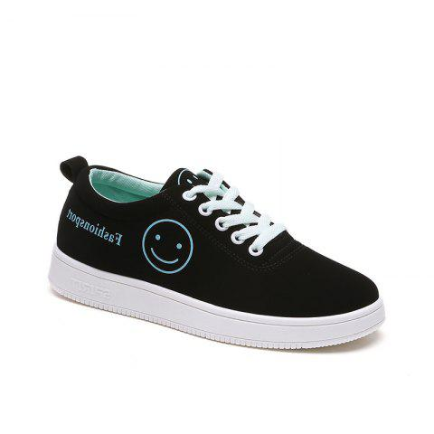Discount Ladies Casual Shoes Female Canvas Shoes - 38 BLUE Mobile