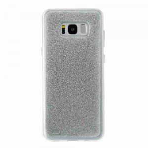 Flash Powder Painted Tpu Phone Case for Samsung Galaxy S8 Plus -