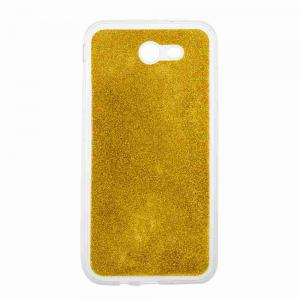 Flash Powder Painted Tpu Phone Case for Samsung Galaxy J7 2017 -