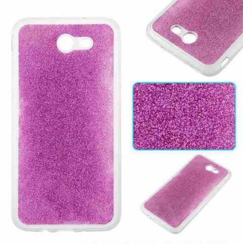 Outfits Flash Powder Painted Tpu Phone Case for Samsung Galaxy J7 2017