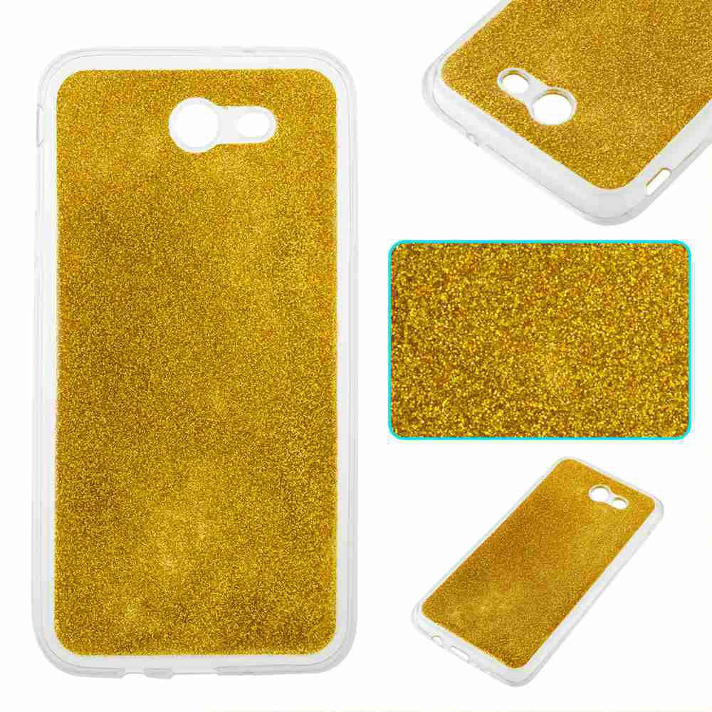Store Flash Powder Painted Tpu Phone Case for Samsung Galaxy J7 2017
