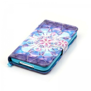 New 3D Painted Pu Phone Case for Samsung Galaxy S5 -