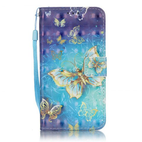 Trendy New 3D Painted Pu Phone Case for Samsung Galaxy S5