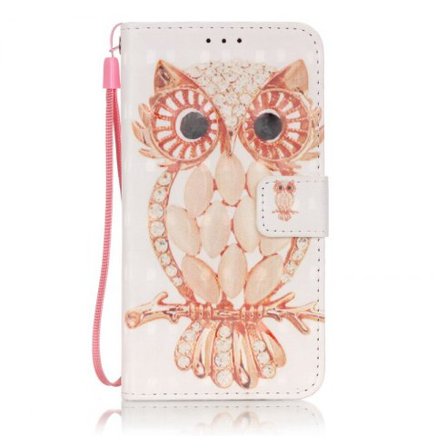 Hot New 3D Painted Pu Phone Case for Samsung Galaxy S5