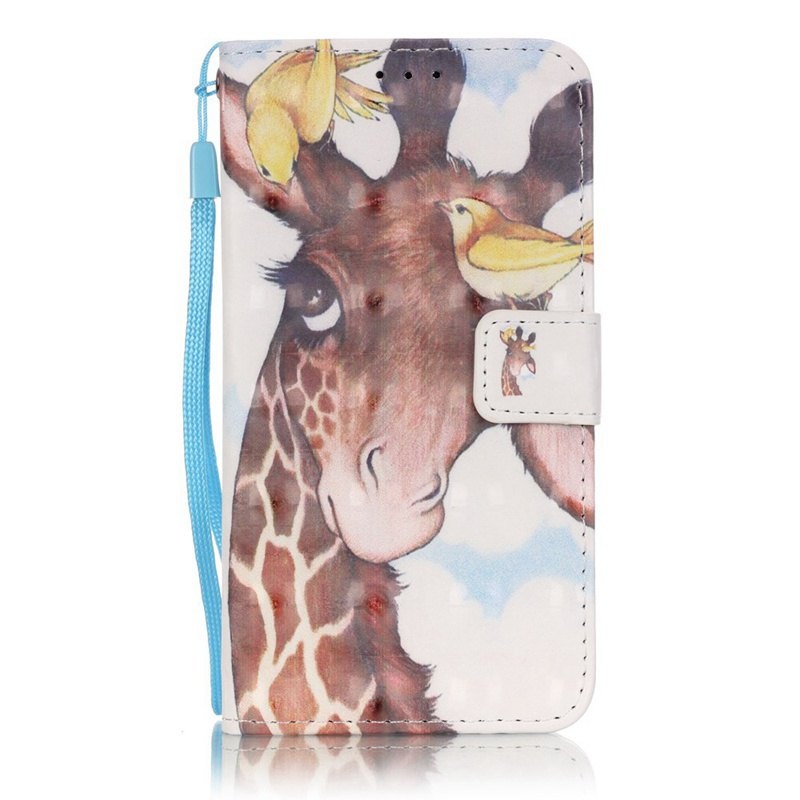 Shops New 3D Painted Pu Phone Case for Samsung Galaxy S5