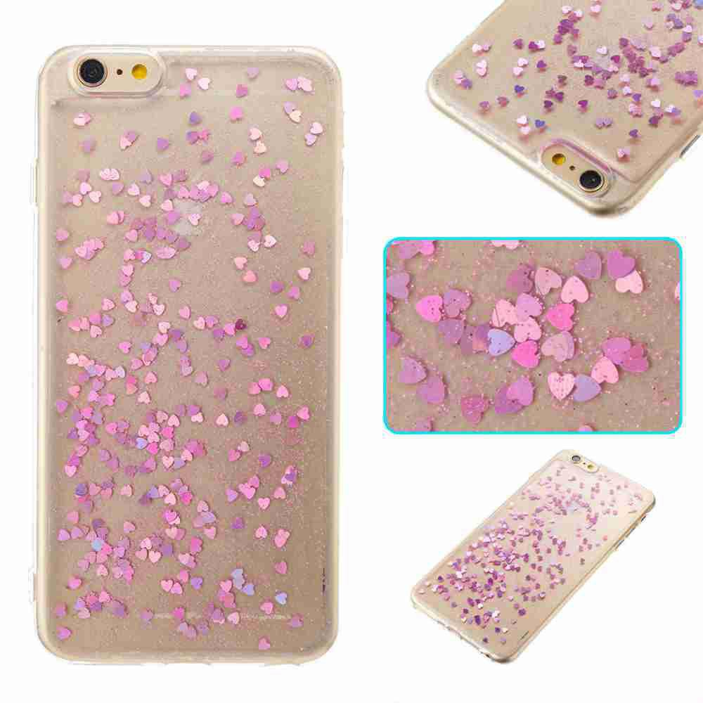 Affordable Love Heart Dijiao Tpu Phone Case for Iphone 6 / 6S