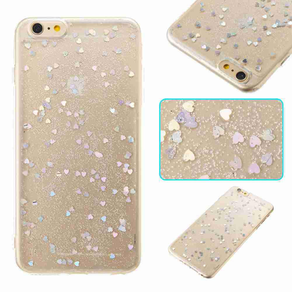 Best Love Heart Dijiao Tpu Phone Case for Iphone 6 Plus / 6S Plus