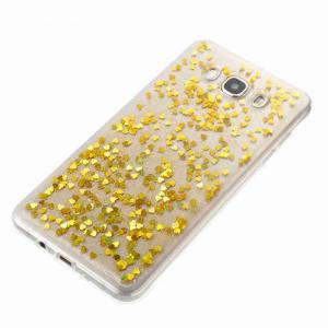 Love Heart Dijiao Tpu Phone Case for Samsung Galaxy J710 / J7 2016 -