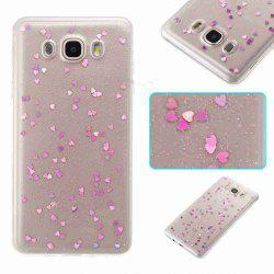Love Heart Dijiao Tpu Phone Case для Samsung Galaxy J510 / J5 2016 -