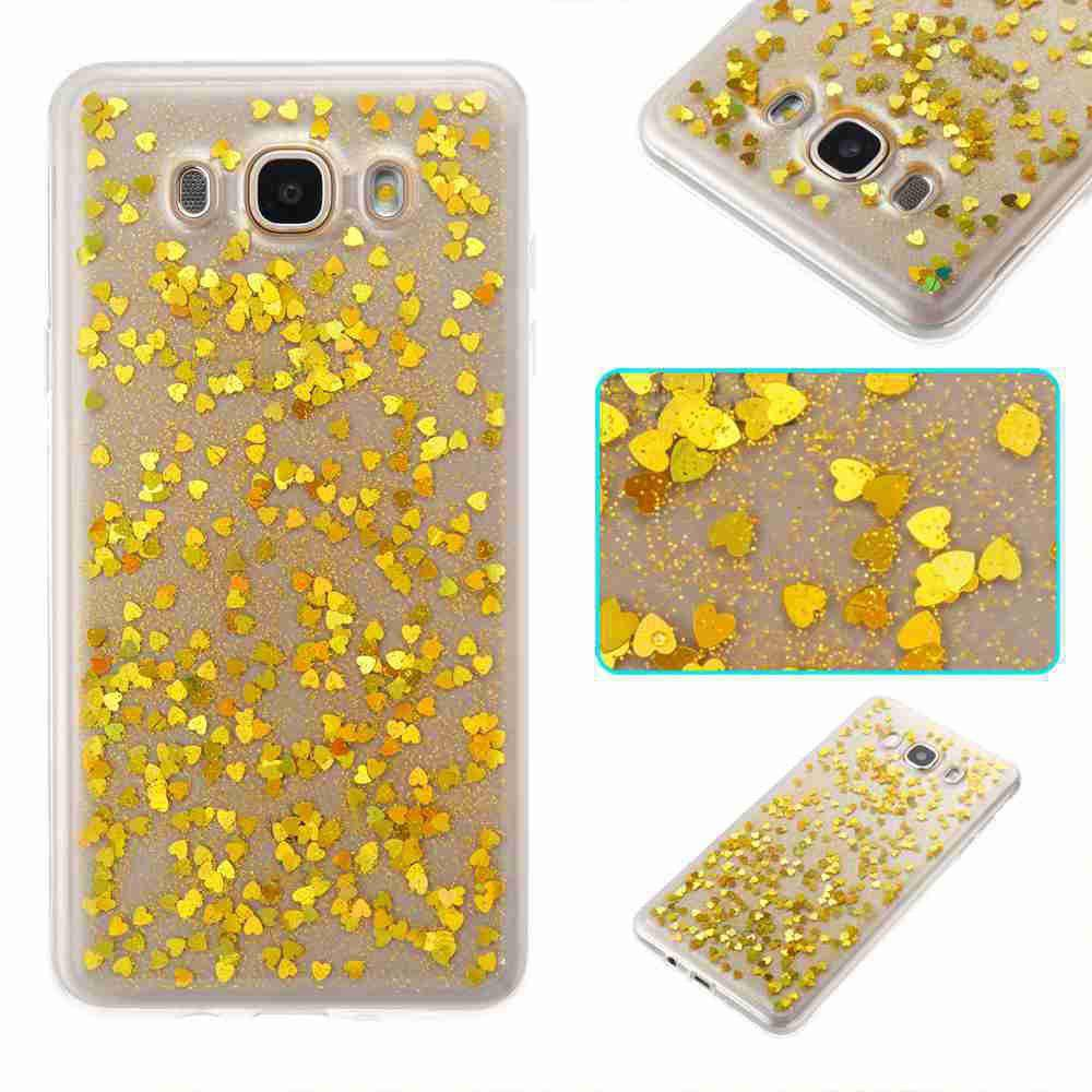 Shop Love Heart Dijiao Tpu Phone Case for Samsung Galaxy J510 / J5 2016