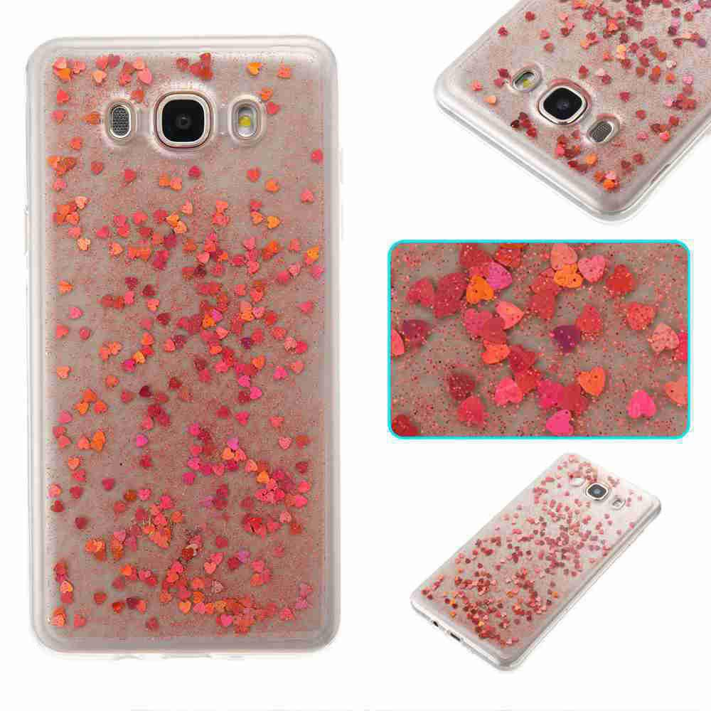 Buy Love Heart Dijiao Tpu Phone Case for Samsung Galaxy J510 / J5 2016