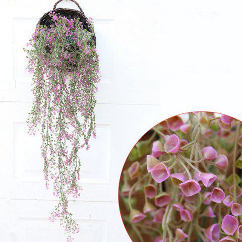 Outfits 110CM Artificial Plant Rattan Hanging Basket Flower Artificial Flower