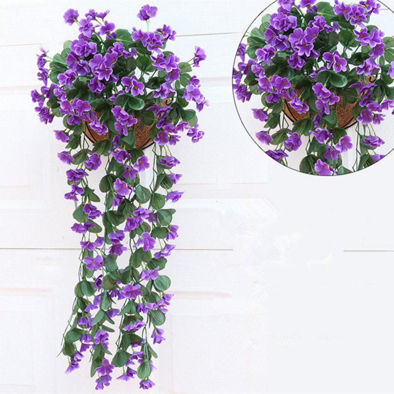 Unique 1 Bouquet Wall Flower Hydrangea Gillyflower Home Decoration Artificial Flower