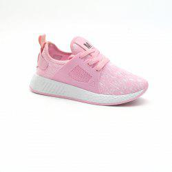 All-Match Lightweight Running Shoes Casual Shoes Flat Shoes - PINK 39