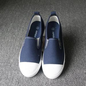 Students Breathe In Running Canvas Shoes - BLUE 36