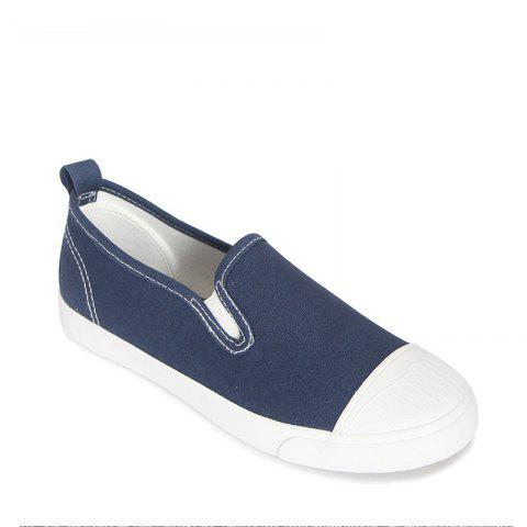 Outfit Students Breathe In Running Canvas Shoes BLUE 37