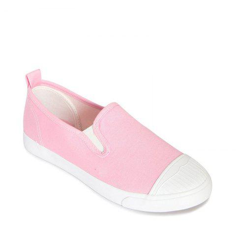 Buy Students Breathe In Running Canvas Shoes - 35 PINK Mobile