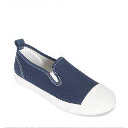 Students Breathe In Running Canvas Shoes - BLUE 37