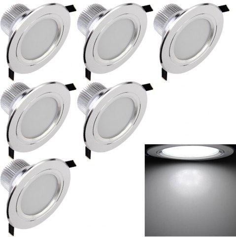 Affordable YouOKLight YK4412 7.5W  LED Downlight Ceiling Lamp 6PCS AC 85 - 265V