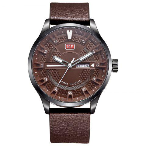 Online MINI FOCUS Mf0028G 4289 Fashion Calendar Display Men Watch